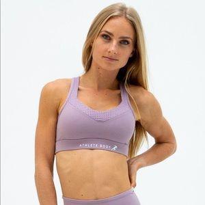 Elevate Purple Sports Bra